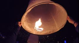 Rise lantern view under